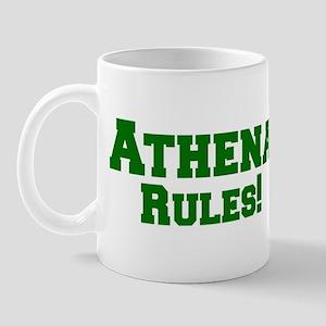 Athena Rules! Mug