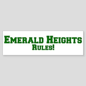 Emerald Heights Rules! Bumper Sticker