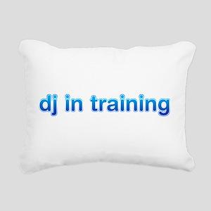 DJ in Training Rectangular Canvas Pillow
