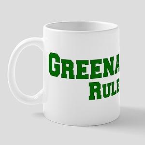 Greenacres Rules! Mug