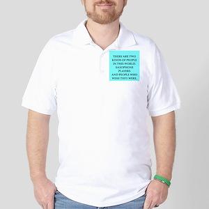saxopkone Golf Shirt