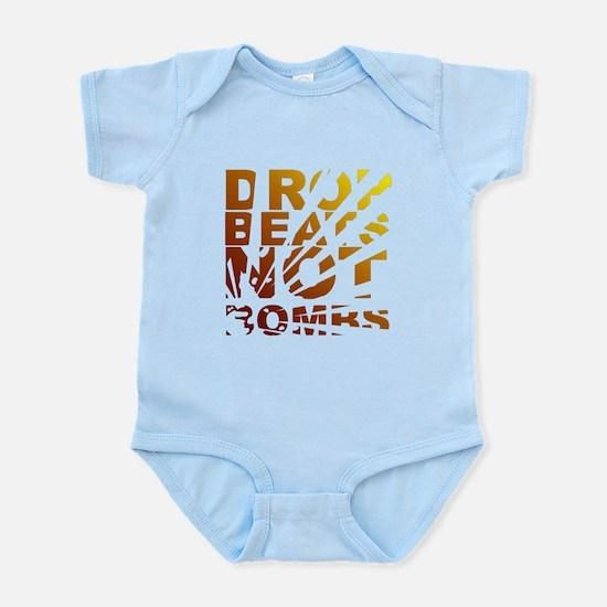 Drop Beats Not Bombs Expolsions Infant Bodysuit