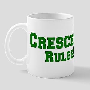 Crescent Rules! Mug