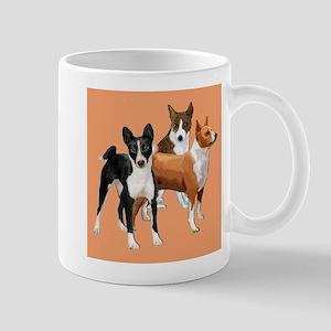 three basenjis Mug