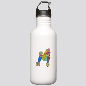 Pretty Poodle Design Stainless Water Bottle 1.0L
