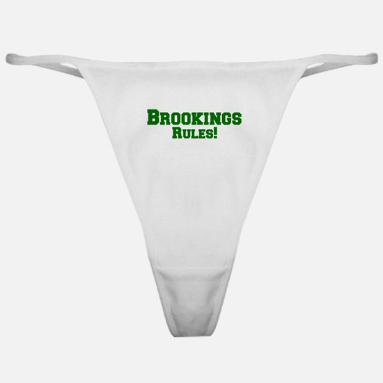 Brookings Rules! Classic Thong