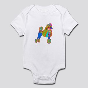 Pretty Poodle Design Infant Bodysuit