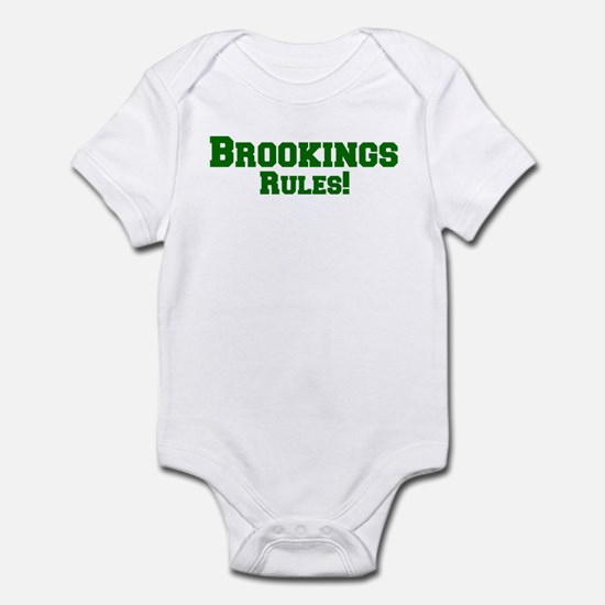 Brookings Rules! Infant Bodysuit