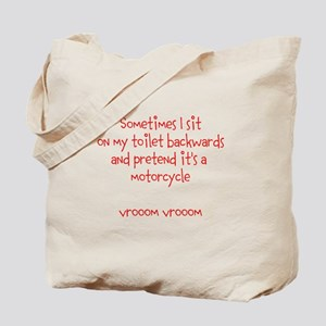 Sometimes I sit Tote Bag