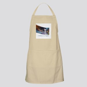 i believe in angels Apron