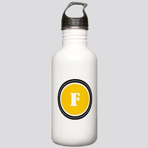 Yellow Stainless Water Bottle 1.0L