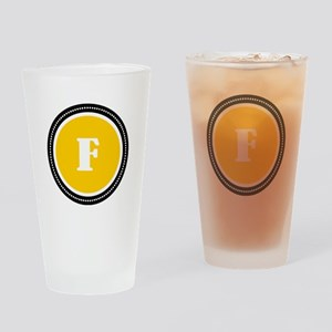 Yellow Drinking Glass