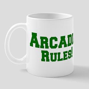 Arcadia Rules! Mug