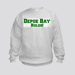 Depoe Bay Rules! Kids Sweatshirt
