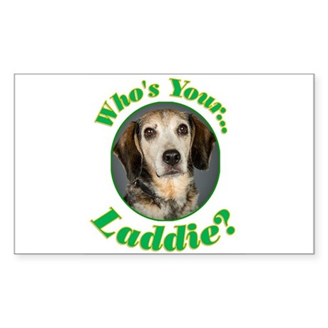 Who's your Laddie? Sticker (Rectangle)