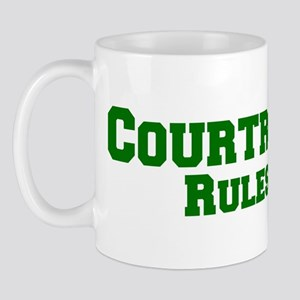 Courtrock Rules! Mug