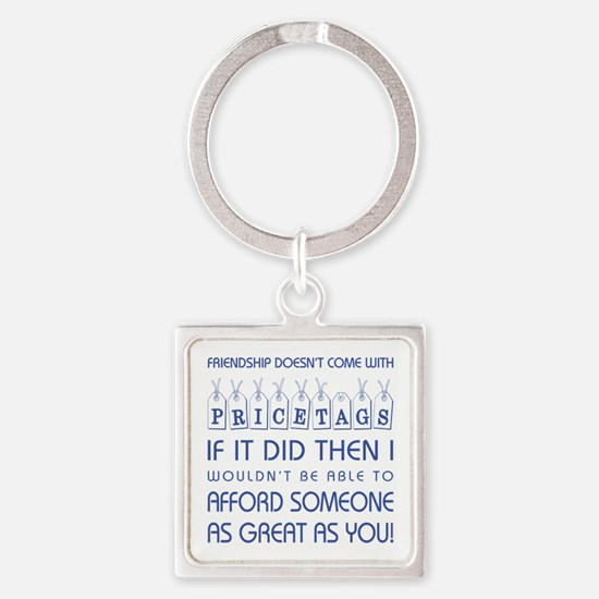 PRICETAGS Square Keychain