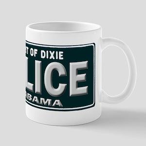 Alabama Police Mug