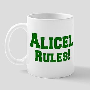 Alicel Rules! Mug