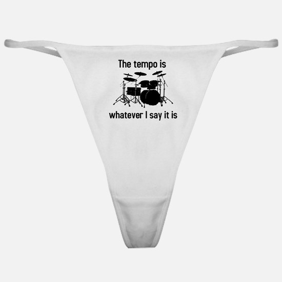 The tempo is Classic Thong