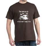 Drummer Mens Classic Dark T-Shirts