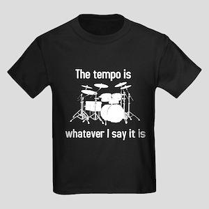 The tempo is Kids Dark T-Shirt
