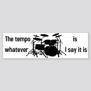 The tempo is Sticker (Bumper)