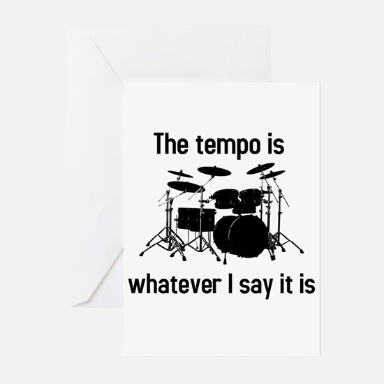 The tempo is Greeting Cards (Pk of 10)