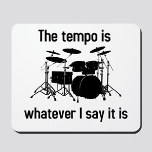 The tempo is Mousepad
