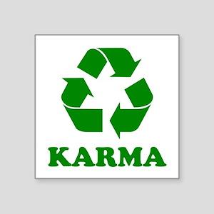 Karma Recycle Sticker