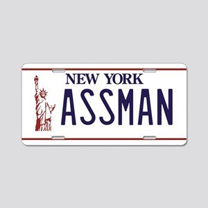 ASSMAN Aluminum License Plate