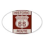 Cajon Summit Route 66 Sticker (Oval 10 pk)