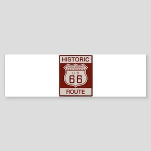 Cajon Summit Route 66 Sticker (Bumper)