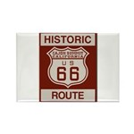 Cajon Summit Route 66 Rectangle Magnet (10 pack)