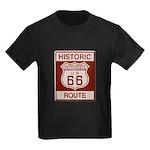 Cajon Summit Route 66 Kids Dark T-Shirt