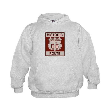 Cajon Summit Route 66 Kids Hoodie