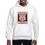 Cajon Summit Route 66 Hooded Sweatshirt