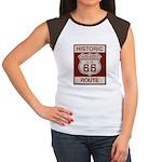 Cajon Summit Route 66 Women's Cap Sleeve T-Shirt