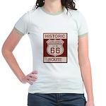 Cajon Summit Route 66 Jr. Ringer T-Shirt