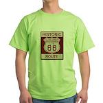 Cajon Summit Route 66 Green T-Shirt