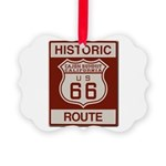 Cajon Summit Route 66 Picture Ornament
