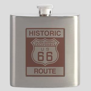Cajon Summit Route 66 Flask