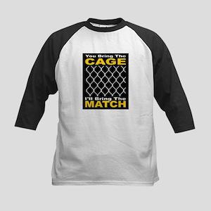 Cage Match Attitude 1 Kids Baseball Jersey