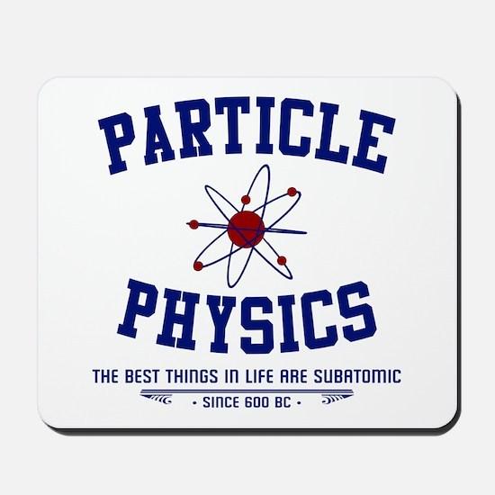Particle Physics Mousepad