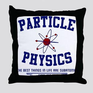 Particle Physics Throw Pillow