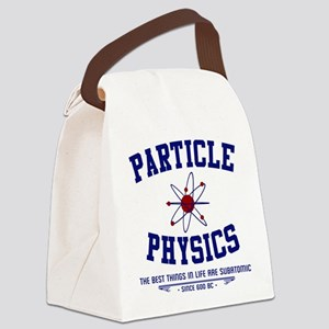 Particle Physics Canvas Lunch Bag