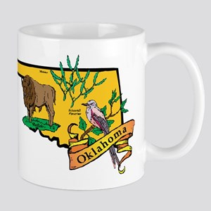 Oklahoma Map Mug