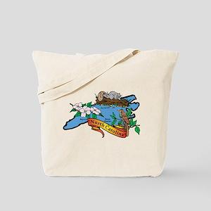 North Carolina Map Tote Bag