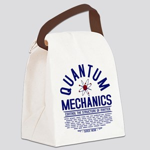 Quantum Mechanics Canvas Lunch Bag