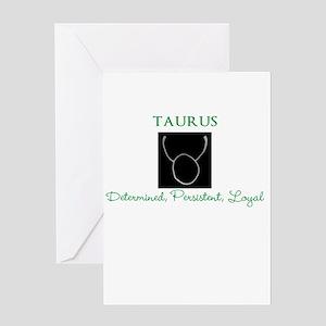Taurus Qualities Greeting Card